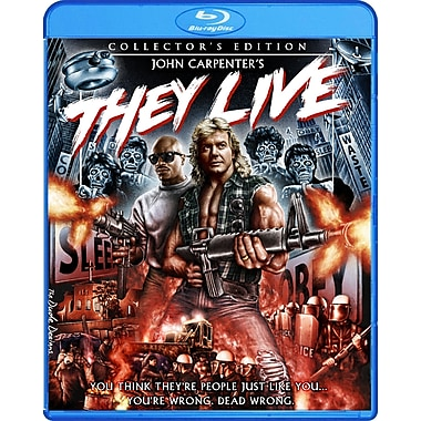 They Live - Collector's Edition (BLU-RAY DISC)