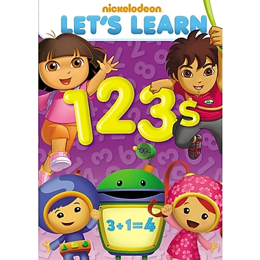 Let's Learn: 1,2,3 (DVD)