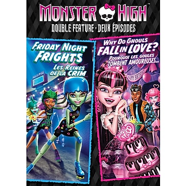 Monster High: Friday Night Frights Why Do Ghouls Fall In Love? (DVD)