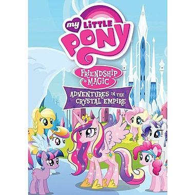 My Little Pony Friendship Is Magic: Adventures In The Crystal Empire (DVD)