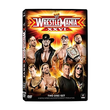 WWE2010: Wrestlemania Xxvi: Glendale, Az: March 28, 2010 (DVD)