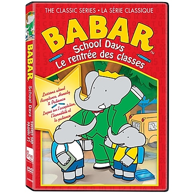 Babar The Classic Series: School Days (DVD)