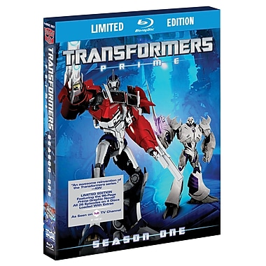 Transformers Prime: Season 1 (BLU-RAY DISC)