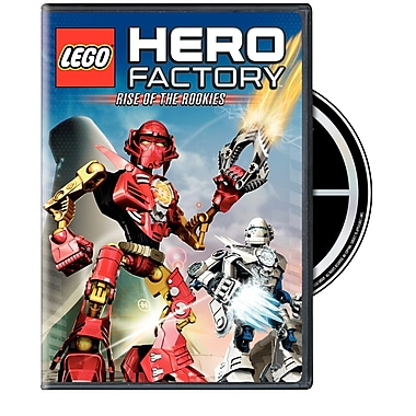Lego Hero Factory Rise Of The Rookies (DVD)