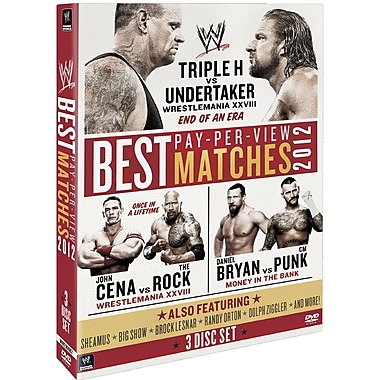 WWE 2012 - The Best Pay Per View Matches Of 2012 (DVD)