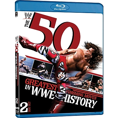 WWE 2012 - 50 Greatest Finishing Moves In WWE History (DISQUE BLU-RAY)