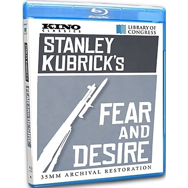 Stanley Kubrick's Fear And Desire (DISQUE BLU-RAY)