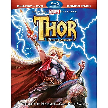 Thor: Tales Of Asgard Combo (BLU-RAY DISC)