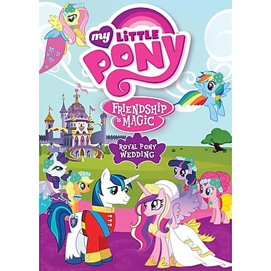My Little Pony Friendship Is Magic - Royal Pony Wedding (DVD)