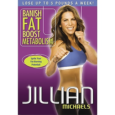 Jillian Michaels: Banish Fat Boost Metabolism (DVD)