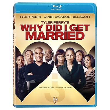 Tyler Perry's Why Did I Get Married? (DISQUE BLU-RAY)