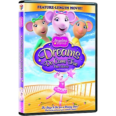 Angelina Ballerina: Dreams Do Come True Dvd (DVD)