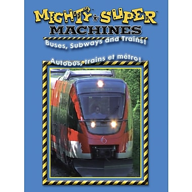 Super Machines: Autobus, Trains Et Métros !