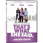 That's What She Said: Selon Elles (DVD)