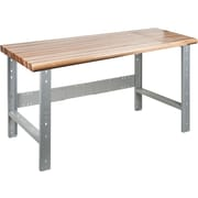 KLETON Workbench, Laminated Wood Top, Open Style