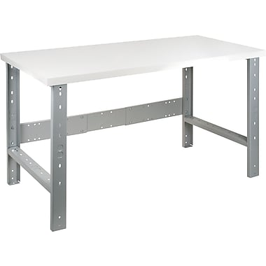 Kleton Workbench, Plastic Laminate Top, Open Style, 30