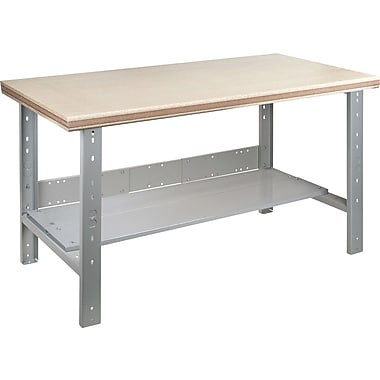 Kleton Workbench, Shop Top, Open Style, Lower Shelf, 30