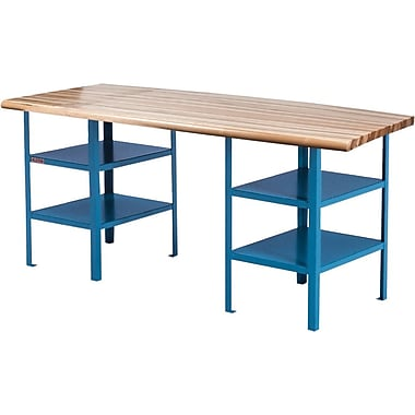 Kleton Extra Heavy-Duty Pedestal Workbenches, 84