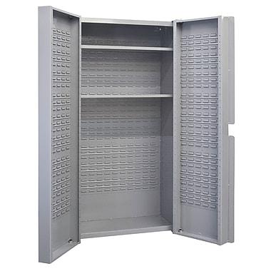 KLETON – Armoire à combinaison à portes creuses, 2 tablettes