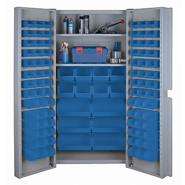 KLETON Deep Door Combination Cabinets, 98 Bins