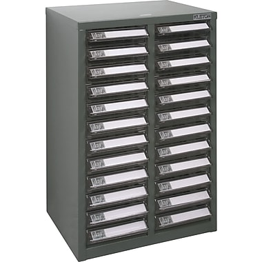 Kleton A6-P Steel Parts Cabinets, 24 Polystyrene Drawers