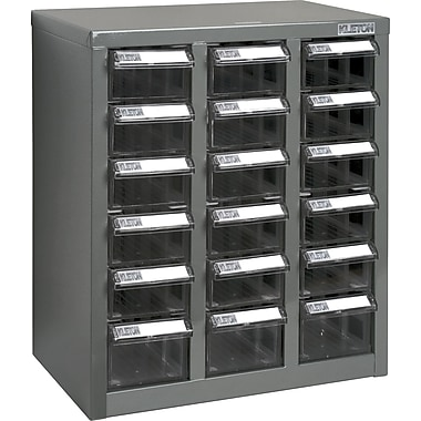 Kleton ST1 Steel Parts Cabinets, 18 Polystyrene Drawers