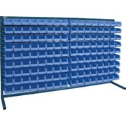 "Kleton Louvered Bench Bin Racks, 144 Bins, 7-3/8""L. x 4-1/8""W. x 3""H."