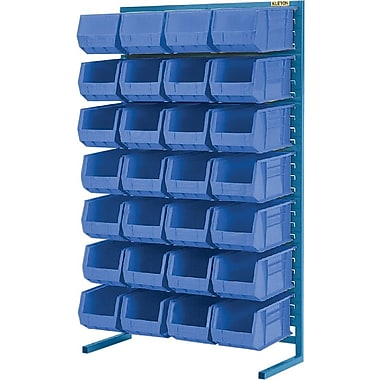 Kleton Stationary Bin Racks, Singled Sided, 36