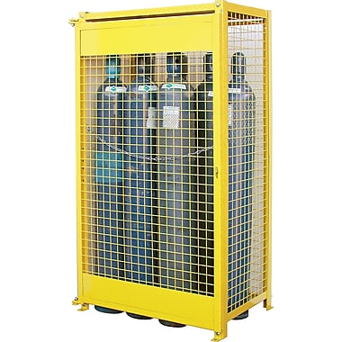 KLETON Gas Cylinder Cabinets, Compressed Gas (9