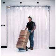 "KLETON Strip Curtain Doors, Standard Temperature PVC, 8""W. Strips"