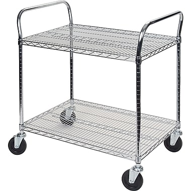 Kleton Utility Carts, 2 Shelves, 24