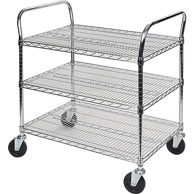 Kleton Utility Carts, 3 Shelves, 24