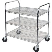 "Kleton Utility Carts, 3 Shelves, 18""D."