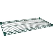 Kleton Shelves for Green Epoxy Finish Wire Shelving