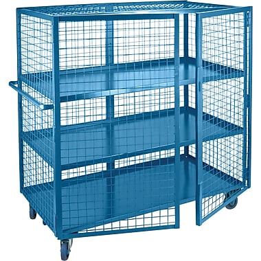 KLETON Security Trucks, 3 Shelves, 5