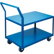 "KLETON Heavy-Duty Low Profile Shop Carts, 5"" Rubber Casters"