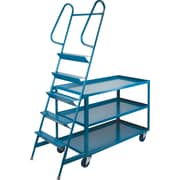 KLETON Stock Picking Carts, 3 Shelves, 5 Steps