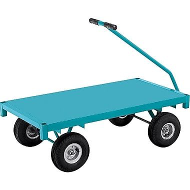 KLETON Ergonomic Platform Wagon Trucks, Steel Deck