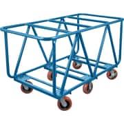 """Kleton Flat Bed Lumber Cart, 34""""W. x 60""""L. x 30""""H."""