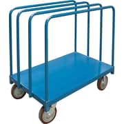 "KLETON Single Level Rails Heavy-Duty Panel Mover Truck, 8"" Polyurethane Casters"