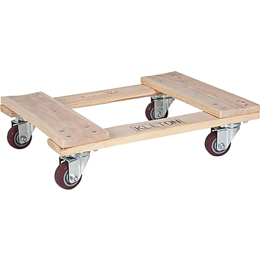 Kleton Hardwood Dollies, All-Wood, 4