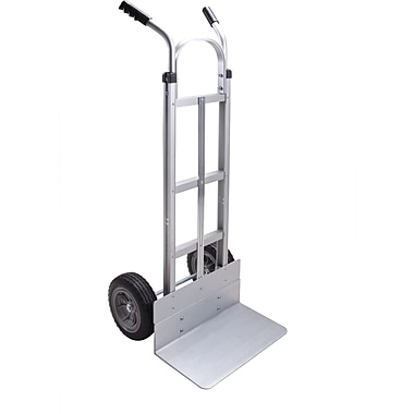 Kleton Aluminum Hand Trucks, Double Grip Handle, 18