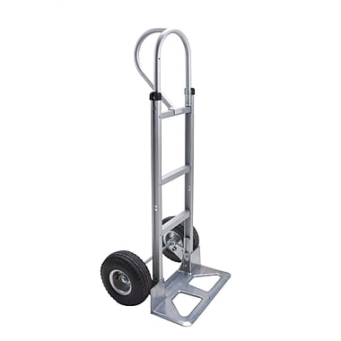 Kleton Aluminum Hand Trucks, Vertical Loop Handle, 18