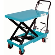 KLETON Hydraulic Scissor Lift Tables, 1,100-lb/load