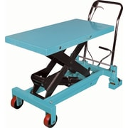 KLETON Hydraulic Scissor Lift Tables, 2,200-lb/load