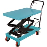 "Kleton Hydraulic Scissor Lift Tables, 770-lb/load, 19-3/4""W. x 35-3/4""L."