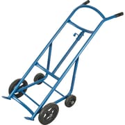 "KLETON Drum Hand Trucks, 10"" Front Rubber Wheels"