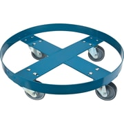 KLETON Steel Drum Dollies, Round Frame, Frame Only