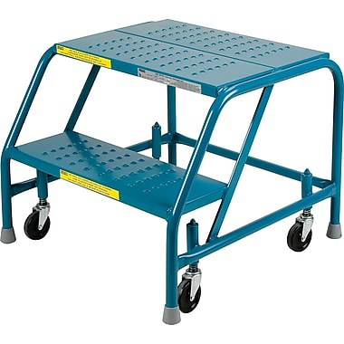 KLETON Rolling Step Ladders, Without Handrails