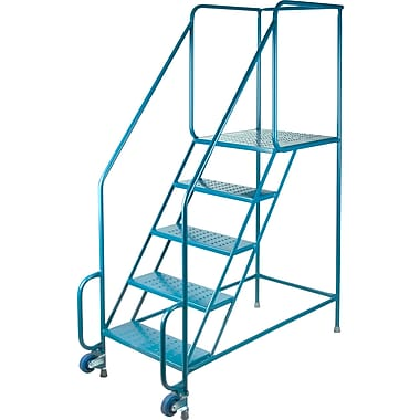 Kleton Tilt-N-Roll Ladders, 5 Steps